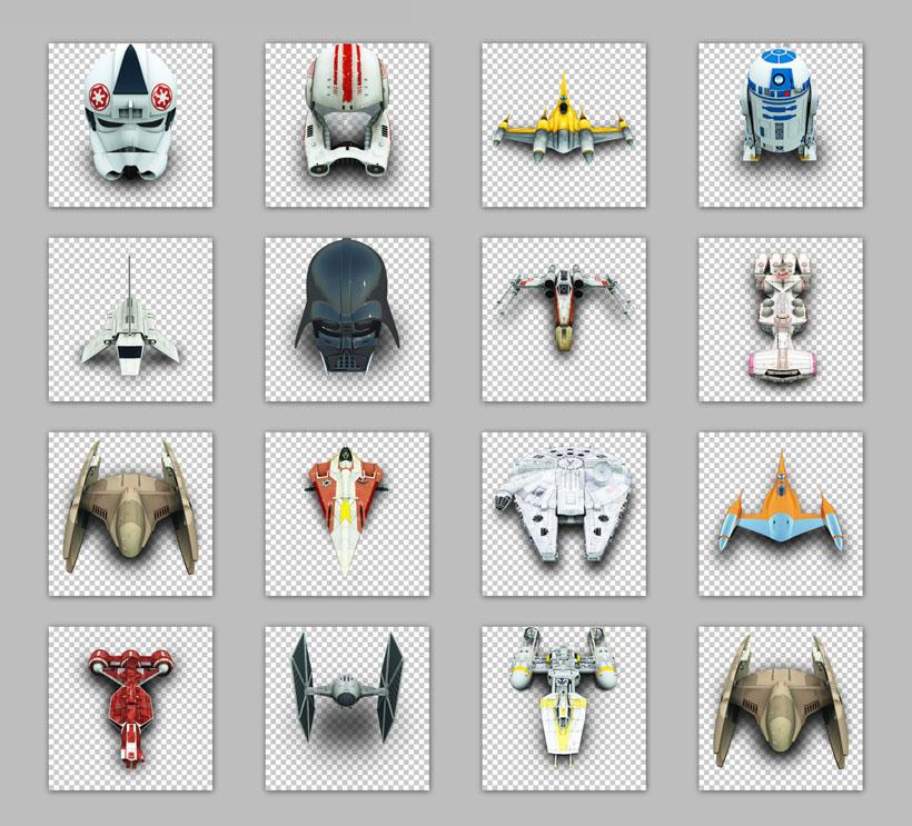 星战 宇宙飞船 战舰 战斗机 飞机 军舰 军用飞机 png素材 png图标