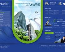 创意网络科技网页设计PSD源文件
