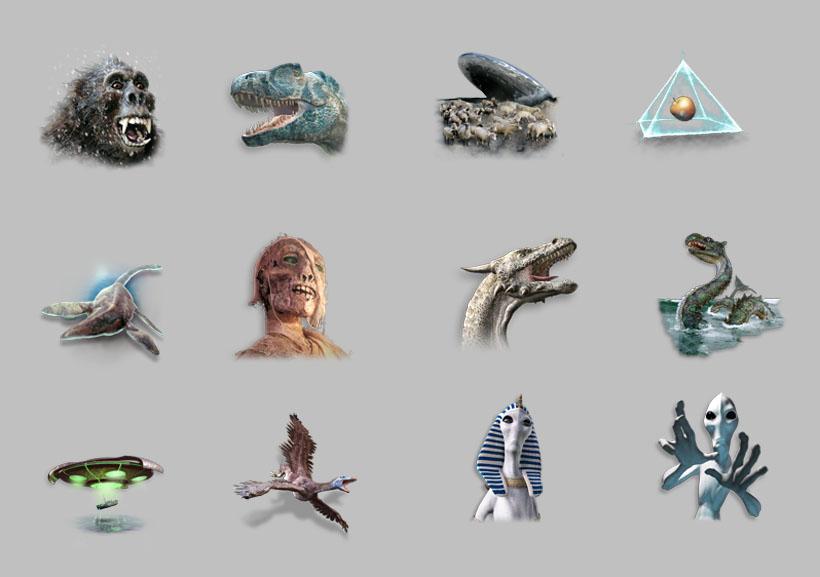 外星人与飞碟png图标 - 爱图网设计图片素材下载