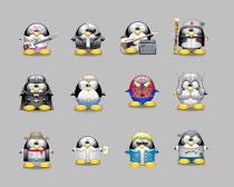 qq 表情/QQ企鹅聊天表情PNG图标