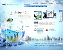 创意科技公司网站PSD源文件