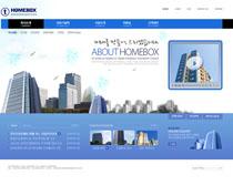 公司大廈網頁設計PSD源文件