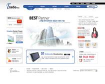 公司运营网站PSD源文件