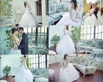 室内婚纱人物摄影高清图片