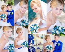 漂亮的新娘婚纱摄影高清图片