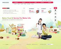 禮品網站設計PSD源文件