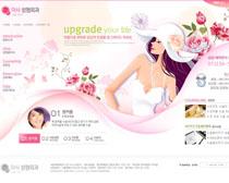 韩国美容整形网站PSD源文件