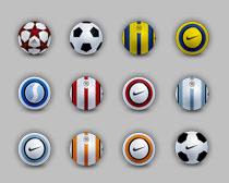 名牌足球PNG图标