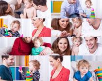 快乐生活家庭人物摄影高清图片