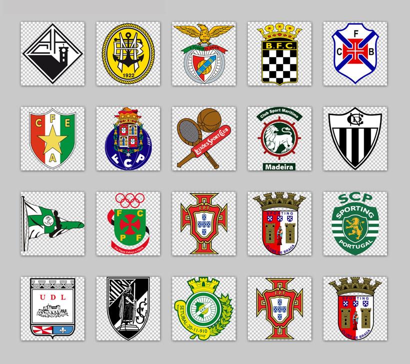 足球球队标志和名字_世界著名足球队标志PNG图标 - 爱图网设计图片素材下载