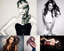 发型女模板摄影高清图片