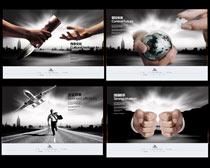 强强联手掌控未来企业文化展板设计时时彩投注平台