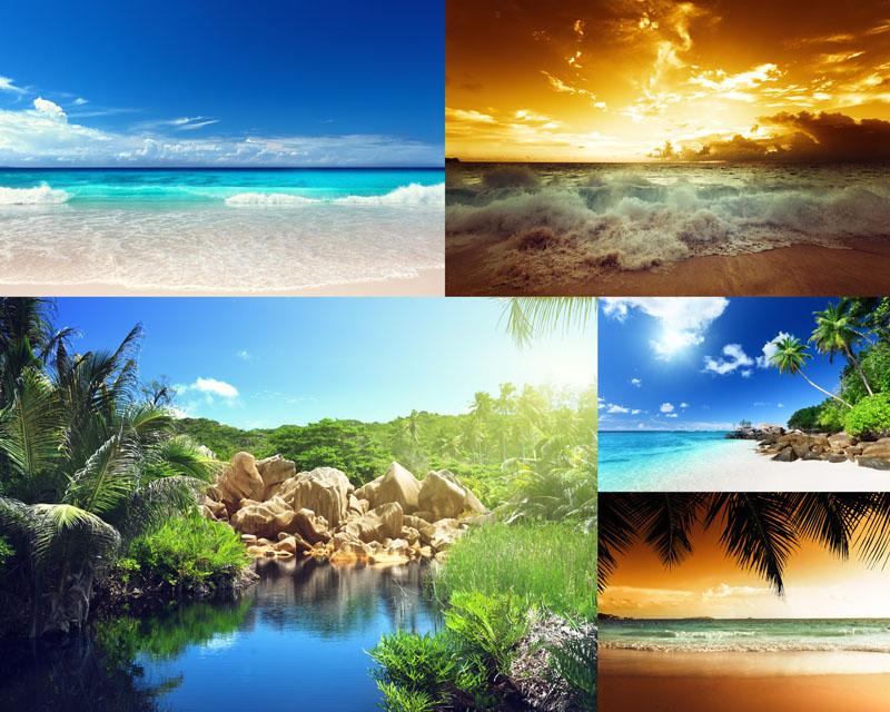 大海自然风景摄影高清图片