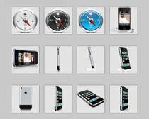 苹果手机系列PNG图标