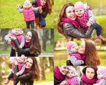 妈妈与宝宝摄影高清图片