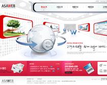 科技企业公司网站PSD源文件