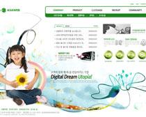 童真年代網站PSD源文件
