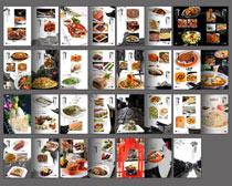 餐厅菜谱画册设计PSD素材