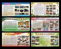 校园文化宣传栏设计PSD素材
