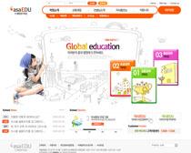 儿童生活网站PSD素材