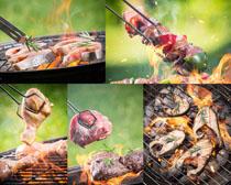 烧烤摄影高清图片