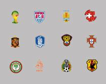 高清世界各国足球队队徽第二辑PNG图标