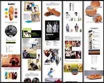 淘宝男女款软底平底鞋详情页面设计PSD素材