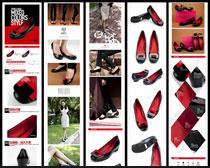 淘宝时尚单鞋宝贝详情页面设计PSD素材