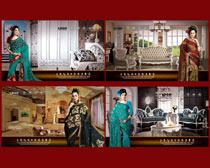 室内装饰宣传海报设计PSD素材