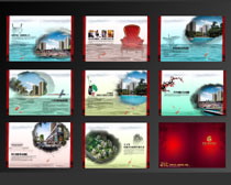 地产楼盘宣传画册设计PSD素材