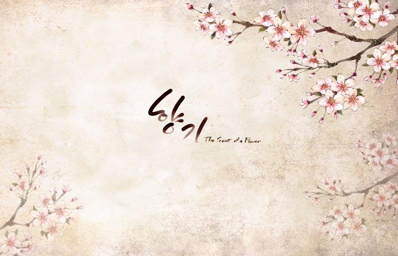 关键字: 梅花背景图案手绘绘画字体韩国素材韩国花朵封面设计底纹图片