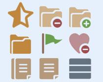 常用网页PNG图标