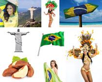 巴西风情景观人物摄影高清图片