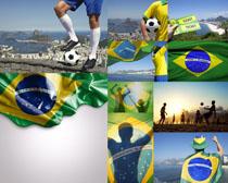 2014世界杯巴西足球高清图片