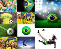 巴西世界杯足球摄影PSD素材