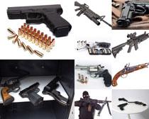 反恐軍事武器攝影高清圖片