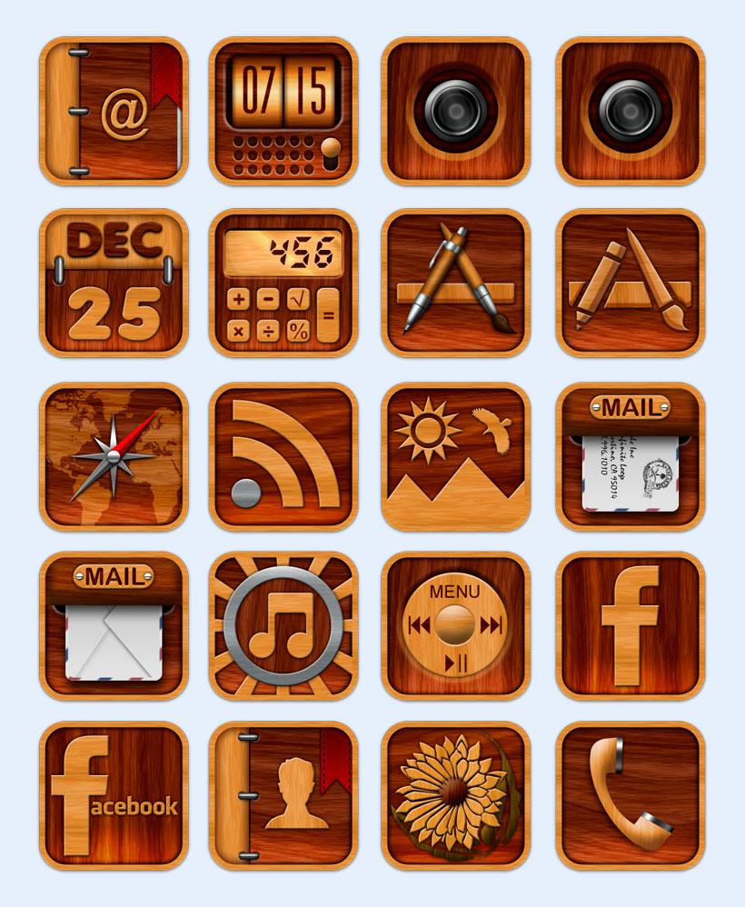 手机个性图标名称_个性手机主题UI设计UI设计欣赏第七城市