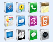 个性iphone系统PNG图标