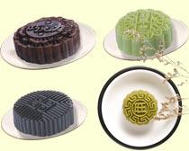 紫米月饼图PSD素材