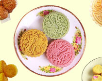 多彩月饼图PSD素材