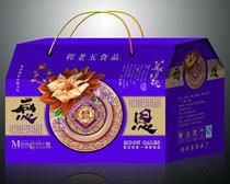美满金秋月饼礼盒袋设计PSD素材