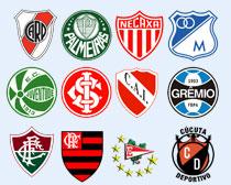 南美多家足球俱乐部PNG图标
