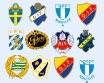 瑞典多家足球俱乐部PNG图标