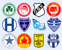 希腊多家足球俱乐部PNG图标