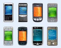 触屏智能手机PNG图标