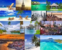 旅游自然風景攝影高清圖片
