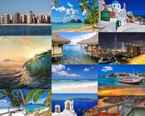 海邊旅游景觀攝影高清圖片