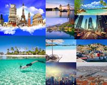 旅游景點建筑風光攝影高清圖片