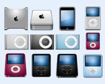高清苹果牌产品PNG图标