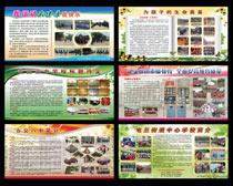 学校宣传栏展板设计PSD素材